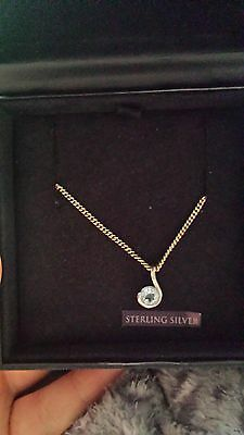 Beaverbrooks sterling silver necklace