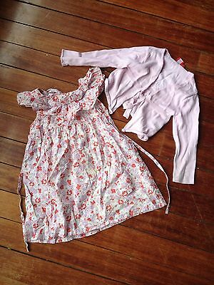 Girls Size 4 5 Dress cardigan Country Road Esprit