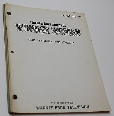 Wonder Woman * 1978 Original RARE TV Show Script * Episode is about UFO sighting