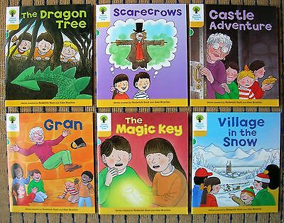 OXFORD READING TREE X 6 Brand New Books( STAGE 5 ) 1ST CLASS POST