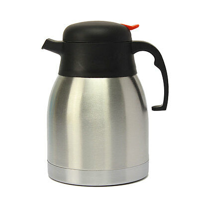 1.2L Stainless Steel Double Wall Isolated Hot Cold Jug Vacuum Thermos Flask AU