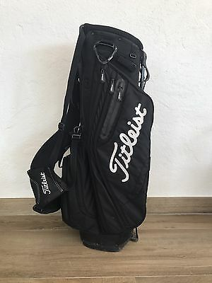 Titleist 2016 Golf Lighweight Stand Bag 4 way - Top Black