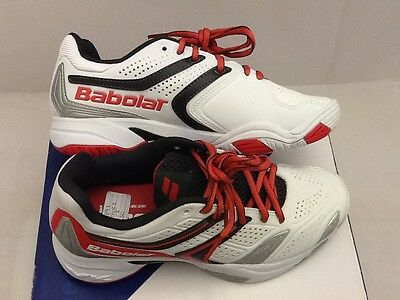 NEW Babolat Women's Drive 3 Tennis Shoes White Size: 4 (RRP £50)