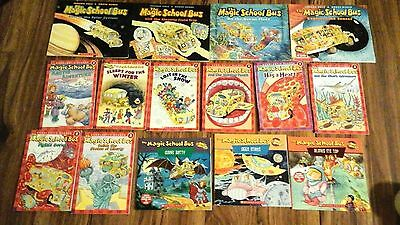 Lot of 15 Magic School Bus books, soft cover, good condition!