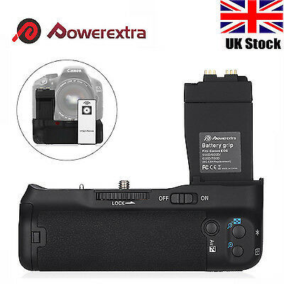 BG-E8 Battery Grip for Canon EOS 550D 600D 650D 700D T2i T3i T4i T5i +IR Remote