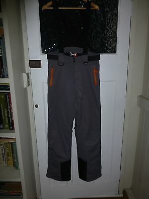 mens ski pants, bib and brace, crane brand