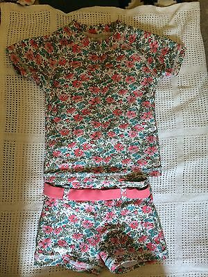 Next Baby Girls Bather Swimming Costume Two Piece Holiday Summer 6-9 Months