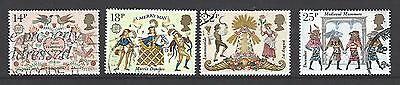 Gb 1981 Folklore  Sg1143/6 Used Set