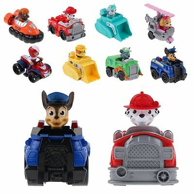 Paw Patrol Dog Puppy Rescue Racer Mission Character Figure Kids Child Toy Gifts
