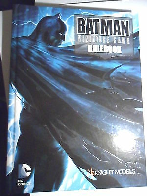 Knight Models Batman Arkham Batman rulebook superhero Dark Knight Gotham