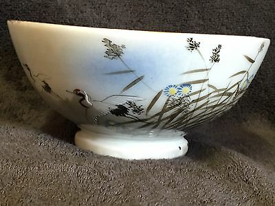 Fine Antique Japanese Porcelain Footed Bowl