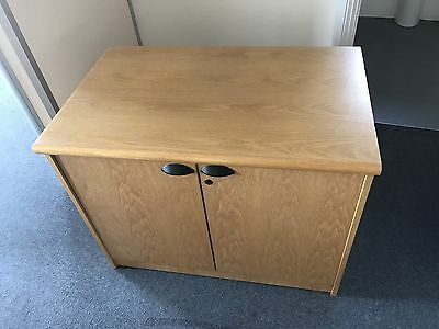 Oak Office Cupboard