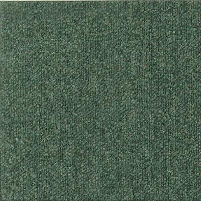 Carpet Tiles, Office, Industrial, Green, Red Used But Good Condition