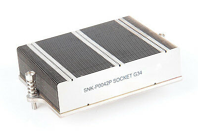 Original SuperMicro SNK P0042P Passiv CPU Kühler Server Heat Sink G34
