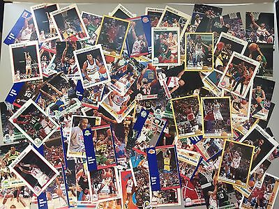 Job Lot Of 109 Basketball Collectable Cards NBA