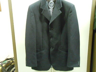 Saddlecraft Fortuna Black Show Jacket - Mens 36""