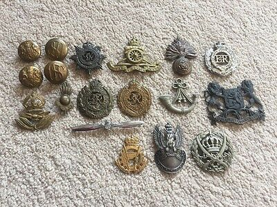 13 Ww2 Badges And 5 Others