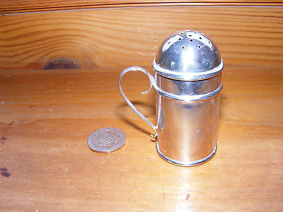 Antique hallmarked Silver pepperette,Sheffield 1898,Joseph Rodgers & Sons