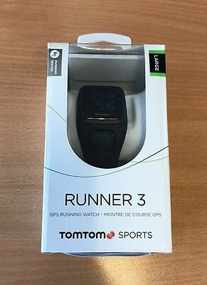 TomTom Runner 3 GPS Running Watch with Large Strap