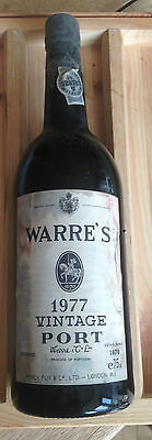 Warre 1977 Vintage Port Full Sealed Superb 40th Anniversary Gift Great Treat