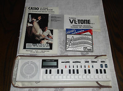 Casio Vl-1 Tone  Electronic Synthesizer Musical Instrument/calculator