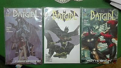Batgirl sequenza 1-3, n° 1 Cover Variant. RW Lion. Prezzo per intero lotto