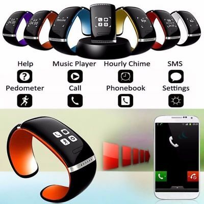 L12S Bluetooth Wrist SMART Bracelet Watch Phone For IOS&Android Samsung iPhone