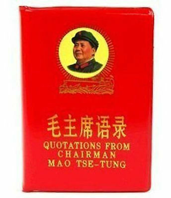China LITTLE RED BOOK Quotations Chairman Mao:d