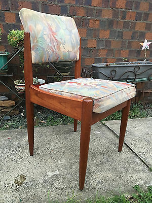 Vintage Retro Teak Parker Chiswell Dining Room Chair x 5 -Mid Century