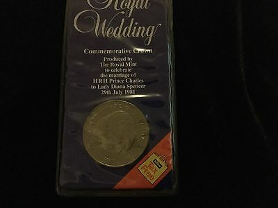 Royal Wedding Of prince Charles & Lady Diana Commemorative Crown Coin
