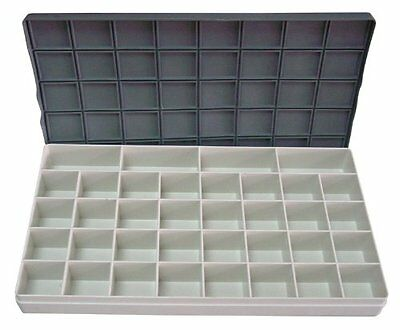 Mijello 52224–Peel-Off Palette Plastic Palette with Lid and compartments,