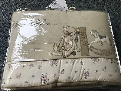 Mamas And Papas Vintage Once Upon A Time Girls Bumper