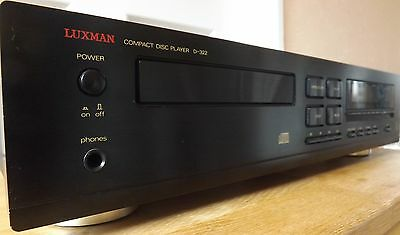 Luxman D-322 Cd Player, Rare And Excellent Condition & Superb Sound!....