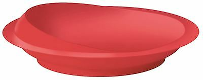 Aidapt Scoop Plate (colour Red)