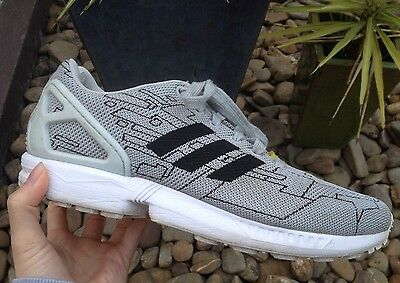 Unisex Adidas ZX Flux Torsion Pattern Sports Trainers Casual Sneakers Shoes