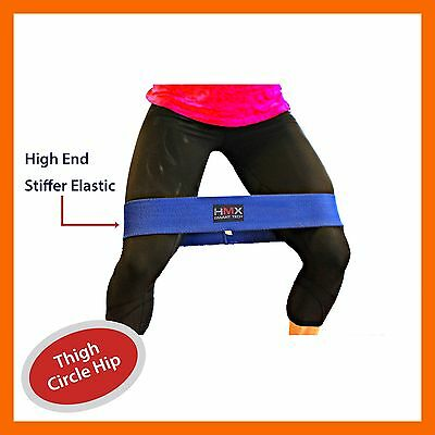 Resistance Band Loop Thigh Circle Exercise Training Gym Fitness Leg Workout S/m