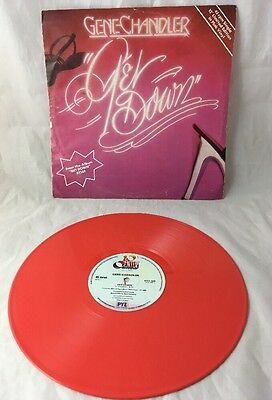 "Gene Chandler - Get Down - 12"" Vinyl - Limited Edition Pink Vinyl 1978"