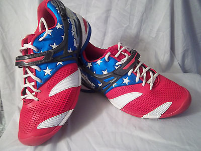 NEW BABOLAT 36s1272 Stars+Stripes Limited Edition Tennis Shoes size 13