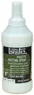 Liquitex Professional Palette Wetting Spray Fluid Medium, 237 ml