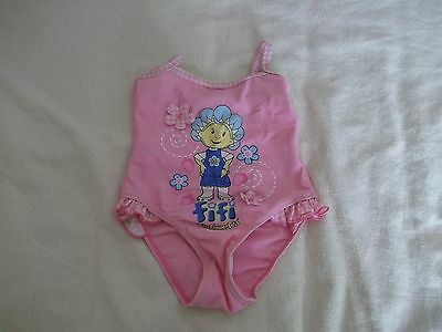 FIFI AND THE FLOWERTOTS Girls swimming costume 18-24 months