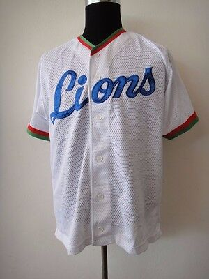 Mizuno Saitama Seibu Lions 埼玉西武ライオンズ Japan Baseball Mesh Jersey / Shirt Npb
