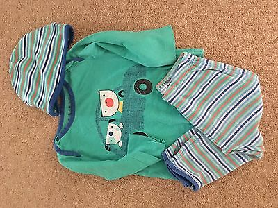 Boys Long Sleeved Pyjamas Size 6-9 Months From Nutmeg At Morrisons