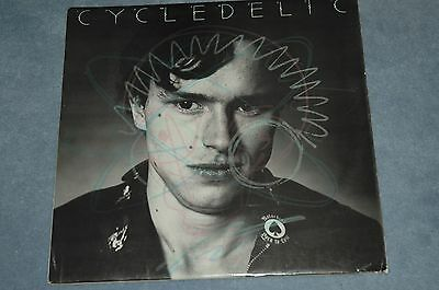 Johnny Moped - Cycledelic - Vinyl Lp With Inner Lyric Sleeve Ex+ Punk
