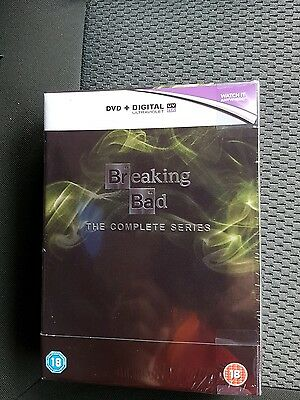 Breaking Bad: The Complete Series [DVD] NEW AND SEALED