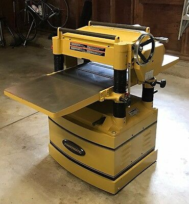 "Powermatic 209HH thickness planer, 20"" width, 5 HP, 230V 3-Phase"