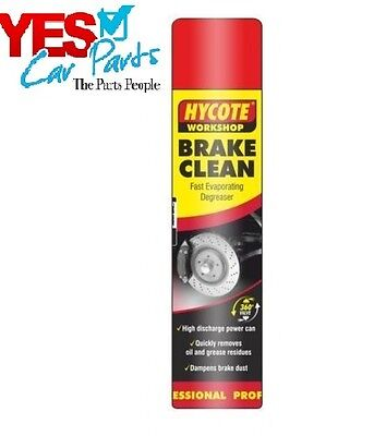 Hycote Brake Disc & Clutch Cleaner Spray Aerosol 600 Ml - Xuk975 - Limited Sale