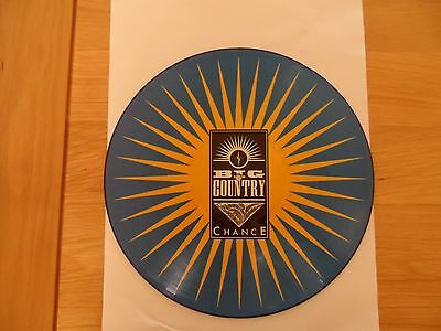 """Big Country - 'Chance'- 12"""" Picture Disc"""