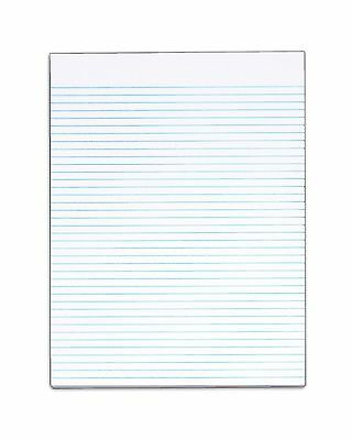 TOPS The Legal Pad Legal Pad 8-1/2 x 11 Inches Gum-Top White Narrow Rule No M...