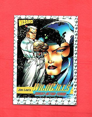 1992 Image Comics Wizard N0.7 Wild C.a.t.s