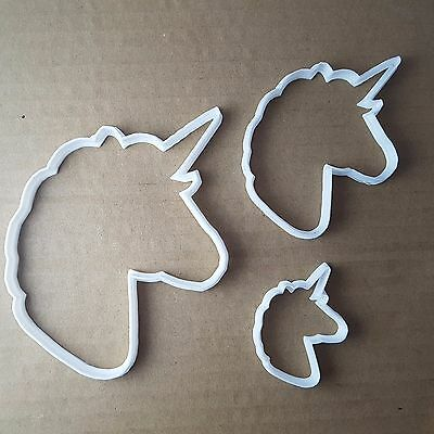 Unicorn Horse Mythical Shape Cookie Cutter Animal Biscuit Pastry Fondant Sharp